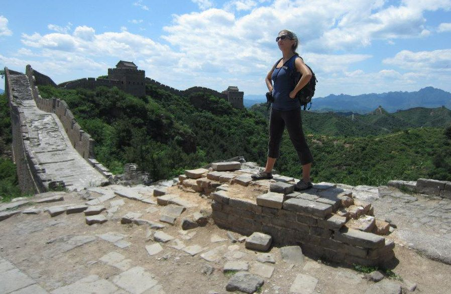 Erica Hobbs picture China  - Meet Erica Hobbs and a wonderful Travel Tip - A Twofer!