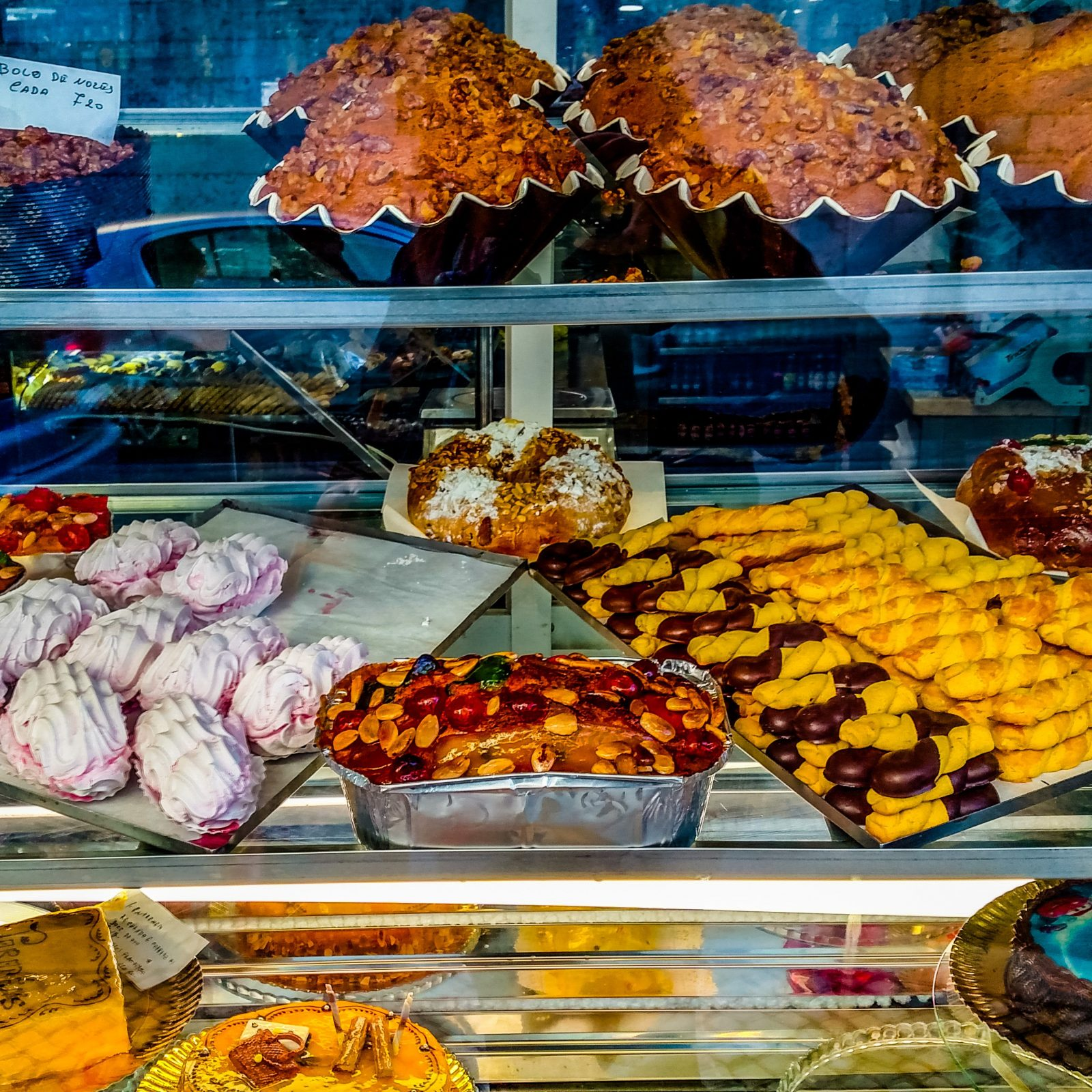 Pastry shop Lisbon Portugal