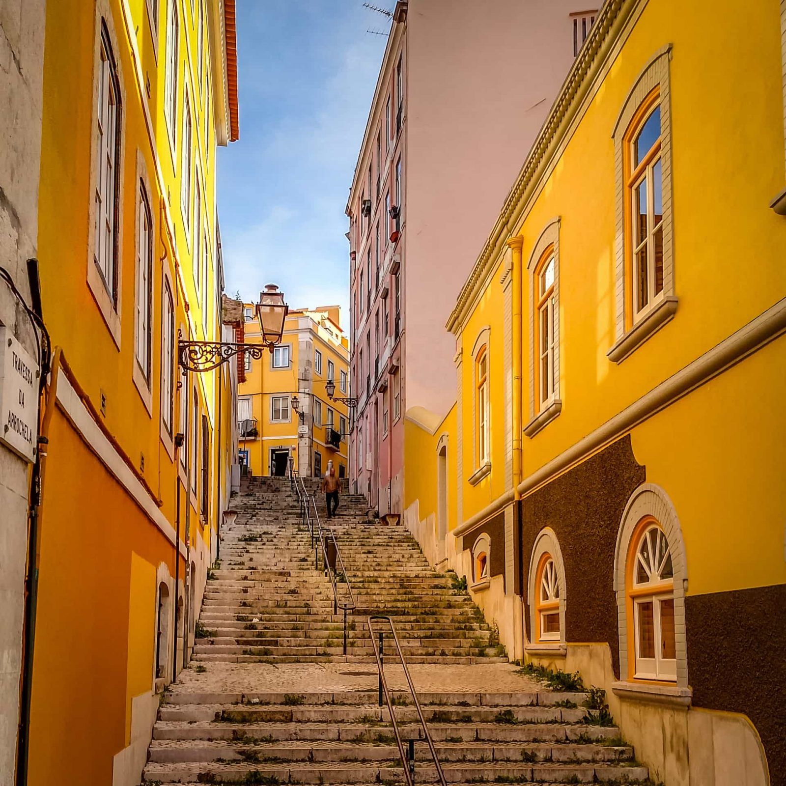 Scaling the heights in Lisbon