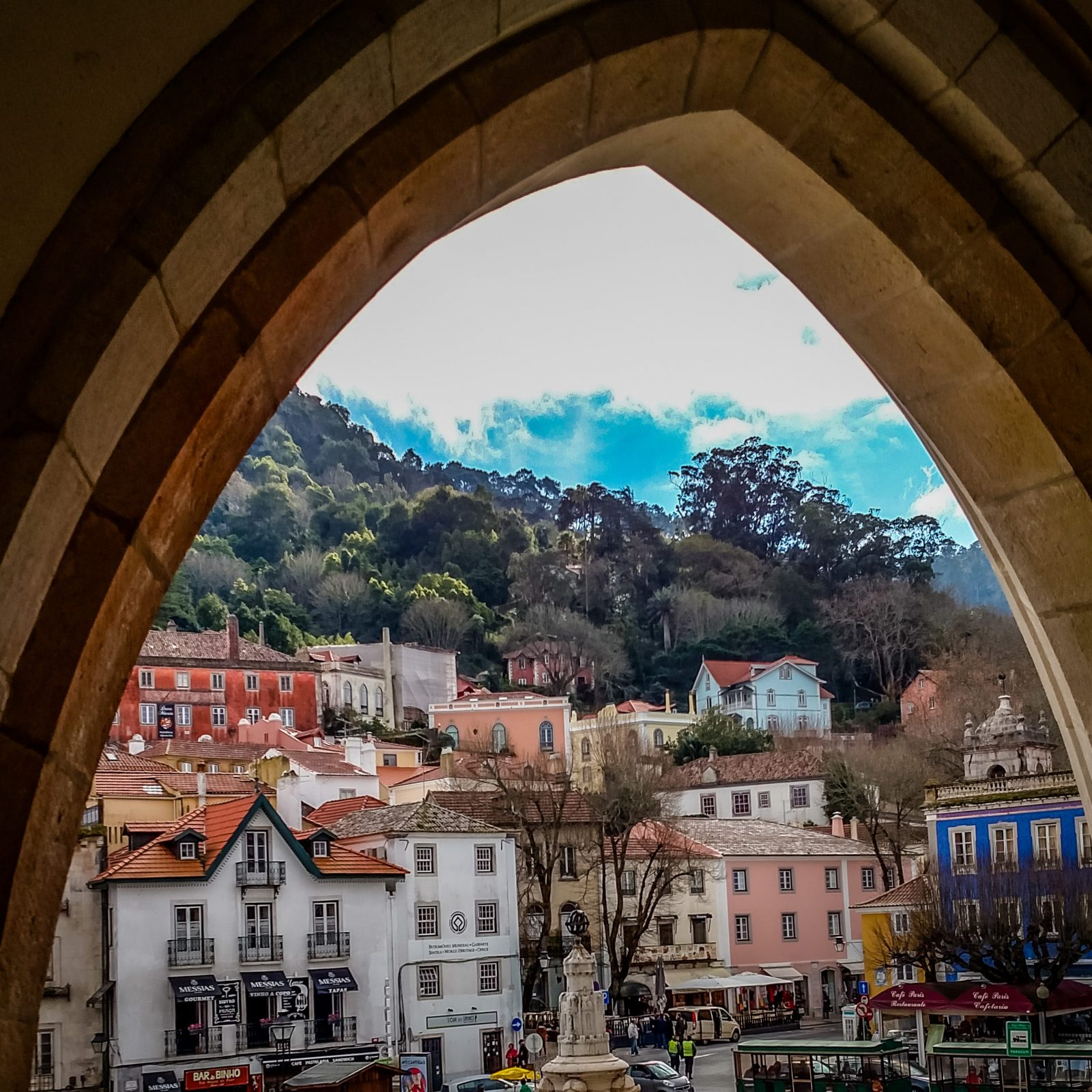 View from National Palace in Sintra