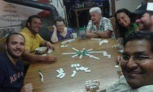 Jeff and friend playing mexican train 300x180 - Thoughts on a Forrest Gump Moment and Feeling Thankful to Veterans