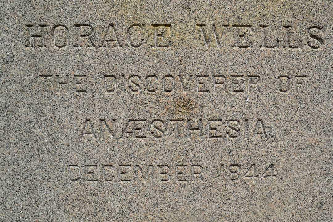 Horace Wells Statue