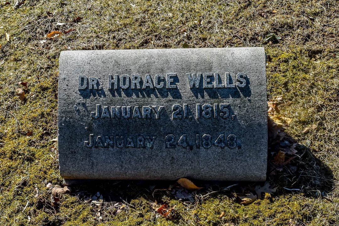 17 mar 2019 32 - Horace Wells, Accidental Discoverer of Anesthesia