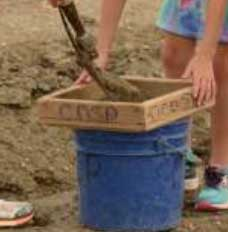 Park provided equipment - Finding Treasure at Crater of Diamonds State Park