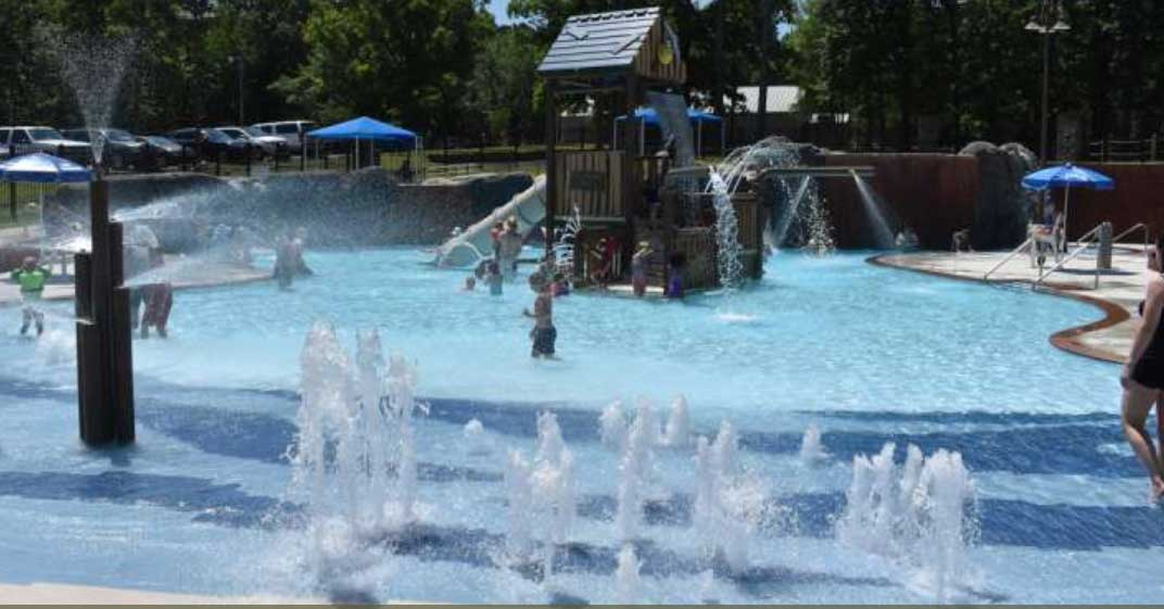 Water Park - Finding Treasure at Crater of Diamonds State Park